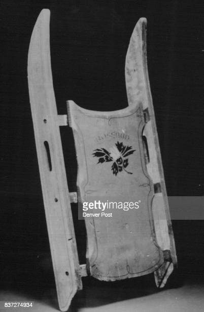 Special For The Denver Post Auth Ed PaulsonThis is a 1982 file photo of the Rosebud balsa sled used in Orson Welles' classic 1941 filem 'Citizen...