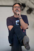 Special Guest Comedian Marc Maron performs on the Broadway St stage during Day 1 of FYF Fest 2012 at Los Angeles State Historic Park on September 1...