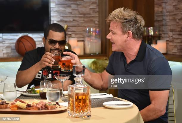 Special guest Ice Cube with host Gordon Ramsay in the allnew Episode Ten episode of THE F WORD WITH GORDON RAMSAY airing Wednesday August 9 on FOX