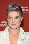 Special guest Kelly Osbourne celebrates the opening of the new Cost Plus World Market Chelsea New York store on August 18 2015 in New York City