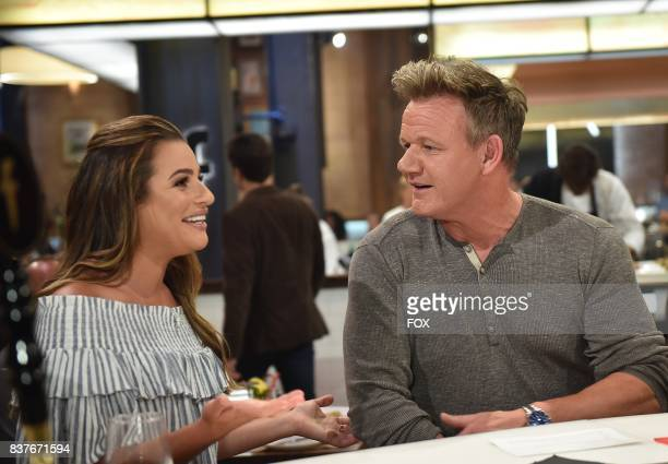 Special guest Lea Michele with host Gordon Ramsay in the allnew Episode Eight episode of THE F WORD WITH GORDON RAMSAY airing Wednesday July 26 on FOX