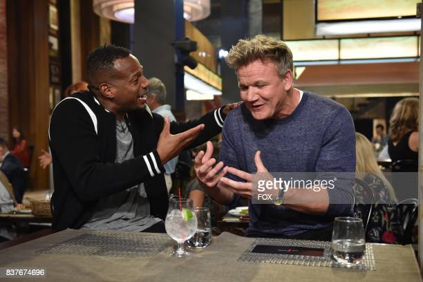 Special guest Marlon Wayans and host Gordon Ramsay in the Episode Five episode of THE F WORD WITH GORDON RAMSAY airing Wednesday July 14 on FOX