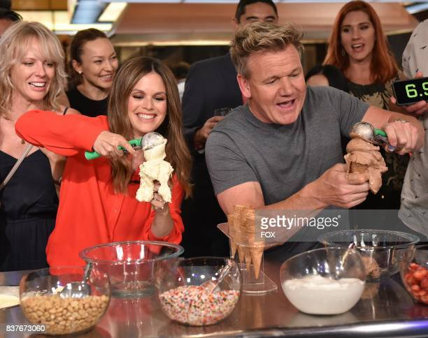 Special guest Rachel Bilson and host Gordon Ramsay in the Episode Five episode of THE F WORD WITH GORDON RAMSAY airing Wednesday June 28 on FOX