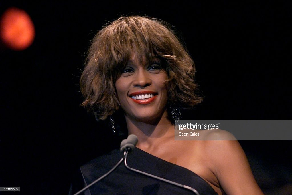 Special guest <a gi-track='captionPersonalityLinkClicked' href=/galleries/search?phrase=Whitney+Houston&family=editorial&specificpeople=201541 ng-click='$event.stopPropagation()'>Whitney Houston</a> at the Songwriters Hall of Fame 32nd Annual Awards at The Sheraton New York Hotel and Towers in New York City on June 14, 2001 Photo by Scott Gries/ImageDirect