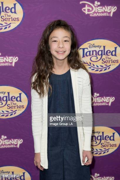 AFTER Special guests and their families joined the cast and creative team for a screening of the Disney Channel Original Movie 'Tangled Before Ever...