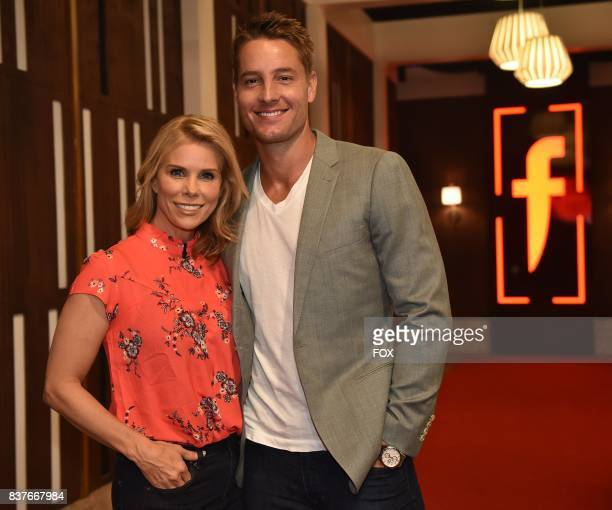 Special guests Cheryl Hines and Justin Hartley in the allnew Episode Seven episode of THE F WORD WITH GORDON RAMSAY airing Wednesday July 19 on FOX