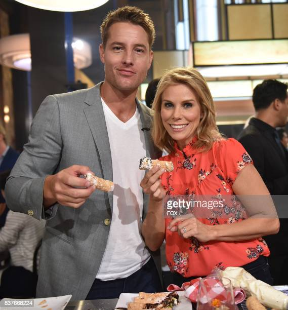 Special Guests Justin Hartley and Cheryl Hines in the allnew Episode Seven episode of THE F WORD WITH GORDON RAMSAY airing Wednesday July 19 on FOX