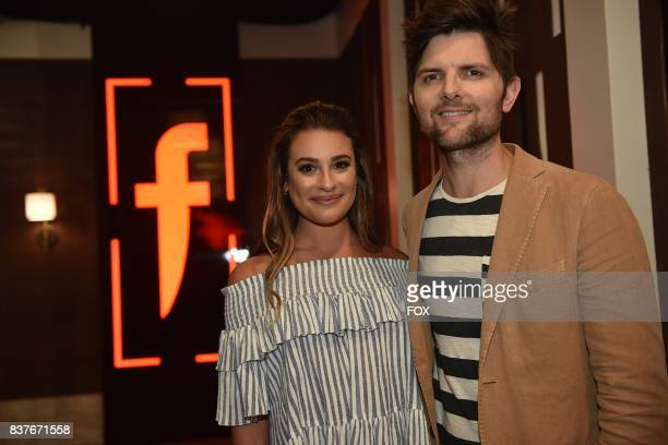Special guests Lea Michele and Adam Scott in the allnew Episode Eight episode of THE F WORD WITH GORDON RAMSAY airing Wednesday July 26 on FOX