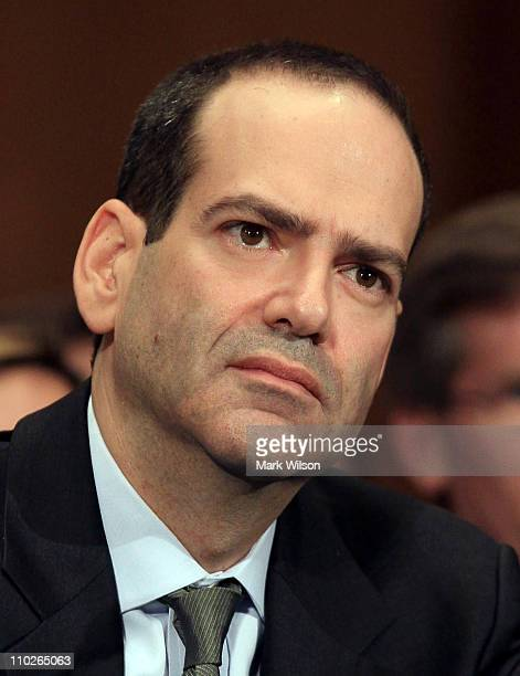 Special Inspector General of the Troubled Asset Relief Program Neil Barofsky participates in a Senate Banking Housing and Urban Affairs Committee...