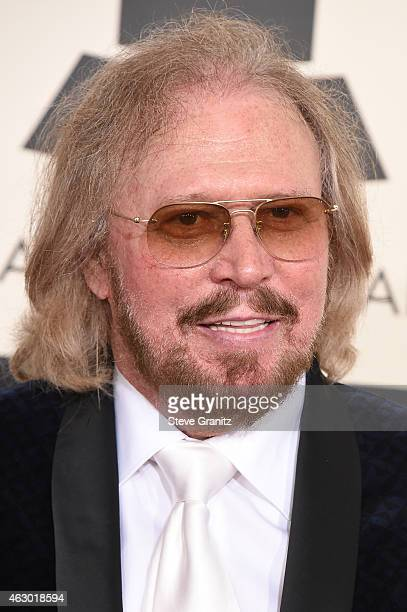 Special Merit Award recipient Barry Gibb attends The 57th Annual GRAMMY Awards at the STAPLES Center on February 8 2015 in Los Angeles California