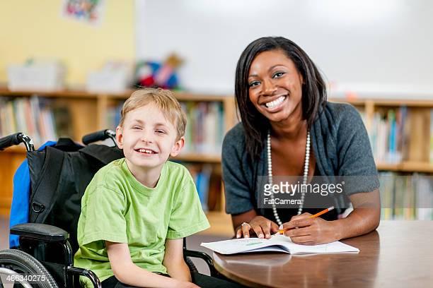 Special Needs Boy