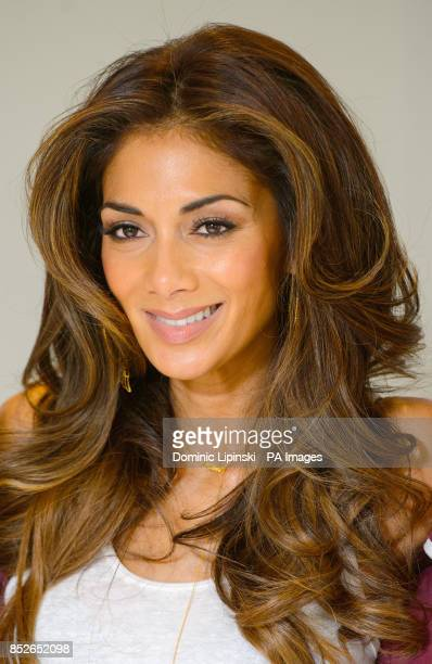 Special Olympics Ambassador Nicole Scherzinger at the Park Plaza Hotel in Westminster London to launch the album 'A Very Special Christmas' on which...