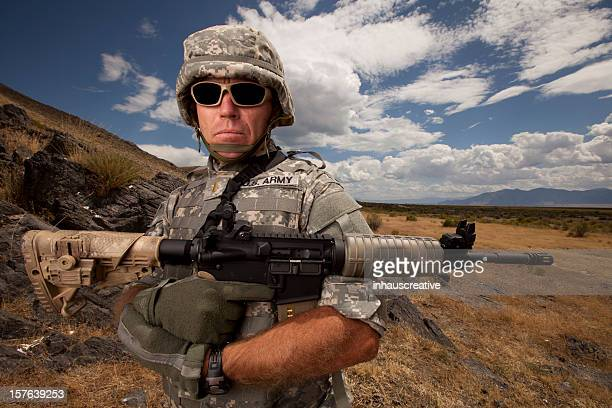 Special ops military soldier