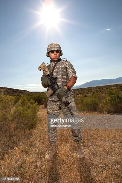 Les opérations militaires soldat
