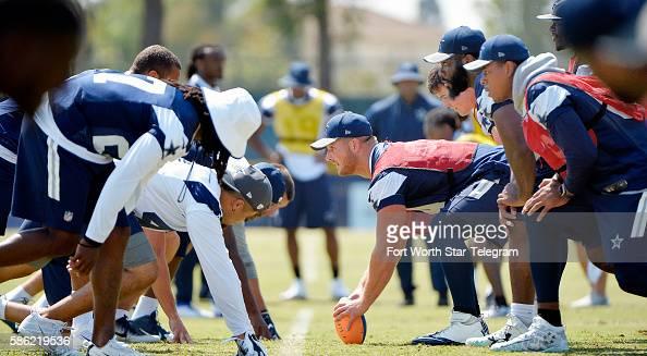 A special teams walkthrough at Dallas Cowboys training camp in Oxnard Calif on Friday Aug 5 2016