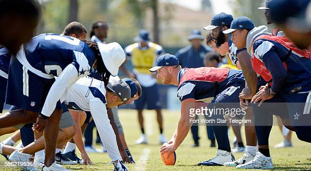 A special teams walkthrough at Dallas Cowboys training camp in Oxnard Calif on Friday Aug 5 2016