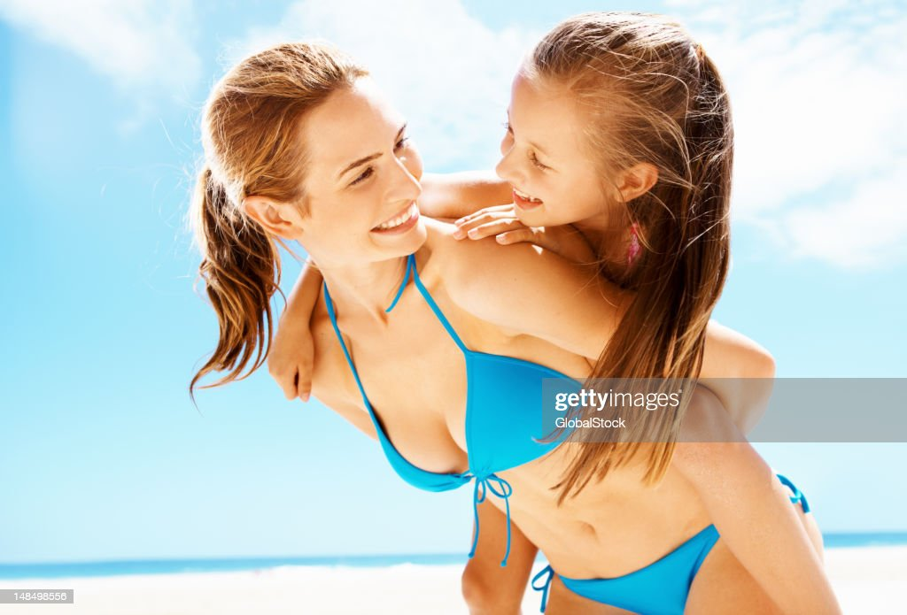 Special time with her girl : Stock Photo