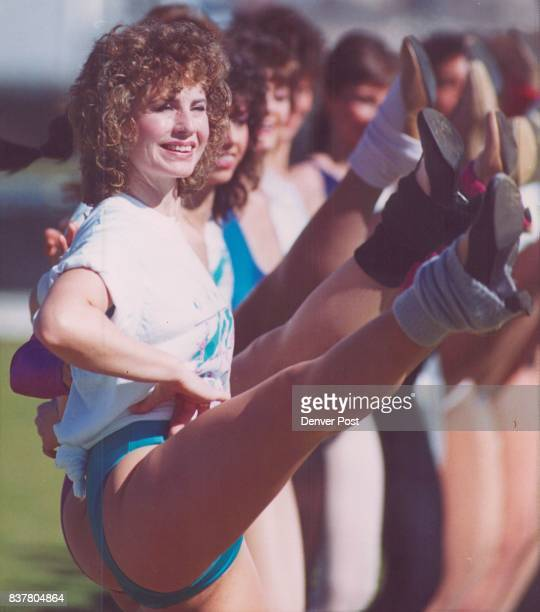 Special to the Denver post 1/20 Dottie belle of Middleton Ohio is among the Rockettes practicing Thursday fir halftime show Super Bowl Credit The...