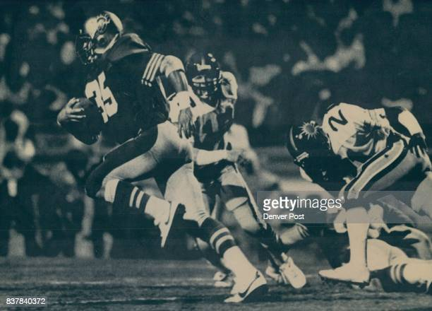 Special Transmission to the Denver PostArizona Wrangler running back Steve Howell sets sail on a 66 yard run only to fumble on the two yard line...