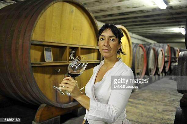Owners Chateauneufdupape Laurence FERAUD dont ChâteauneufduPape Domaine du Pegau est classé 12ème au classement du 'Wine Spectator'