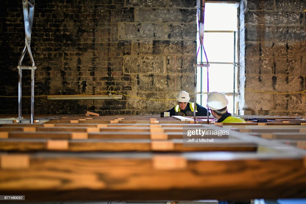Restoration Work Continues At Glasgow School Of Art