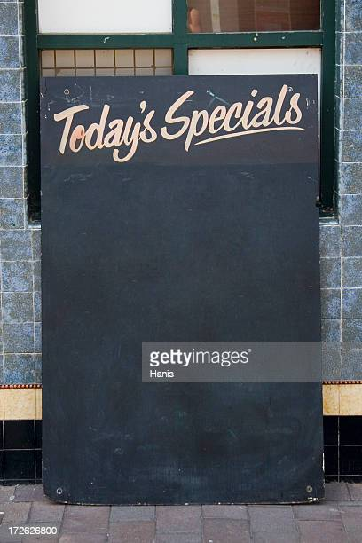 Specials board with clipping path