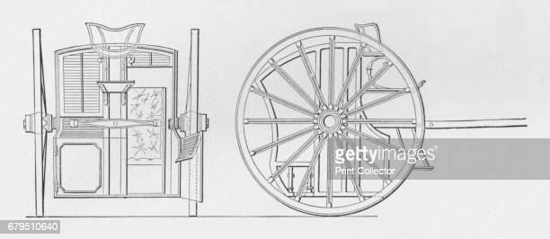 Specification Drawings for Hansom's Cab 1834' The hansom cab is a kind of horsedrawn carriage designed and patented in 1834 by Joseph Hansom an...