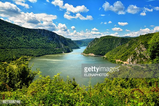 Spectacular Danube Gorges : Stock Photo