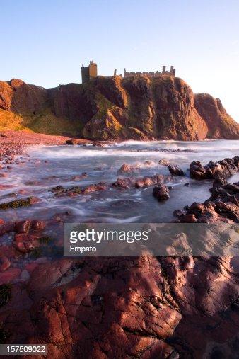 素晴らしいダノッター城、Aberdeenshire ます。