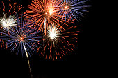 Fireworks display with copy space.Click images for lightbox Nightshots