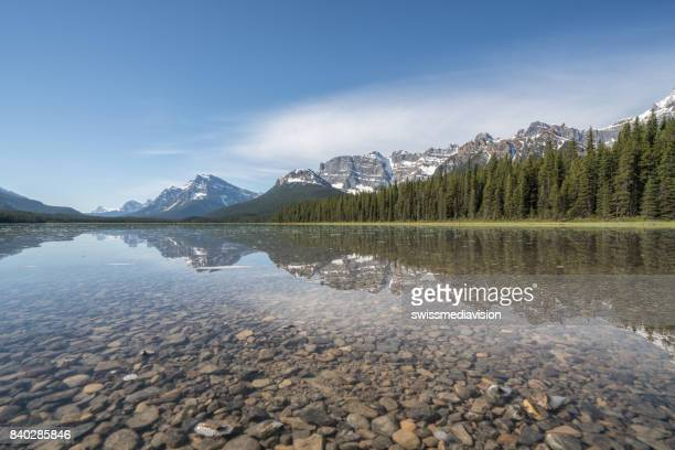 Spectacular lake and mountain scenery, Canada