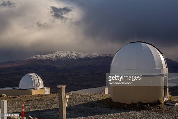 Spectacular view from Mt John observatory
