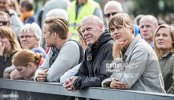 Spectators at Cope'n'waken 2016, Copenhagen, Denmark