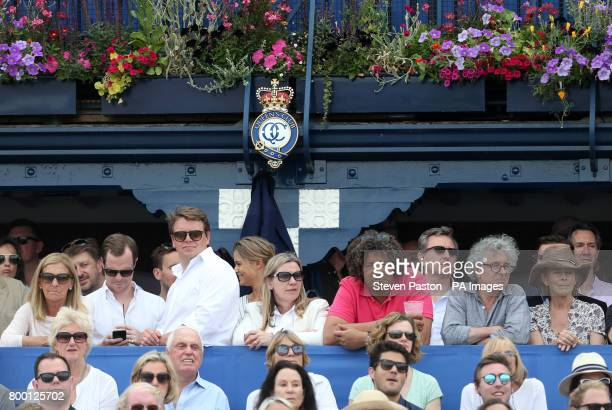 Spectators look on during day five of the 2017 AEGON Championships at The Queen's Club London
