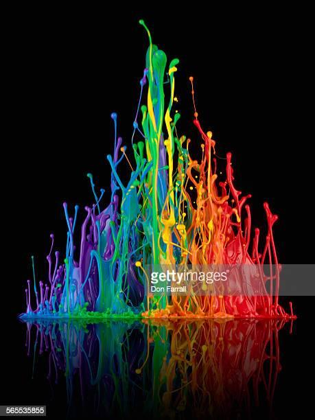 Spectrum of paint