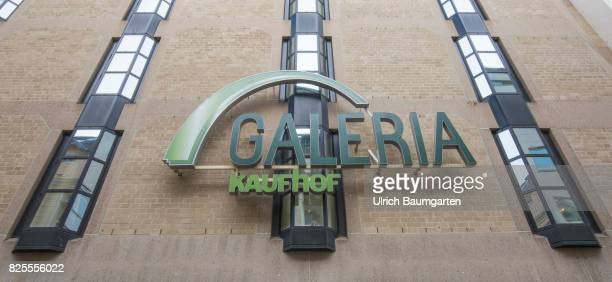 Speculations around the future of Galeria Kaufhof Exterior view with Galeria Kaufhof logo of the Galeria Kaufhof Filliale in Bonn