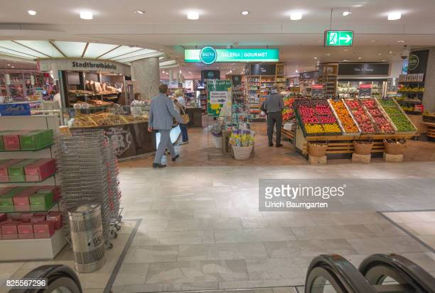 Speculations around the future of Galeria Kaufhof The photo shows the food section in the Galeria Kaufhof filliale in Bonn