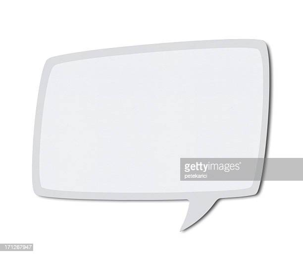 Speech Bubble (Clipping Path)