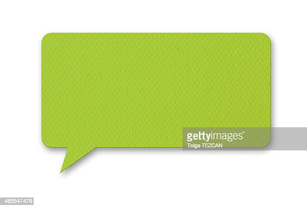 Speech Bubble (Isolated)