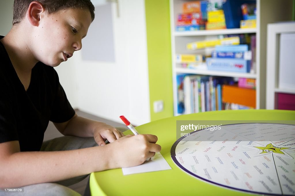 Speech Therapy 12 Year Old Child suffers from dysphasia dyspraxia and reading writing and spelling disorders
