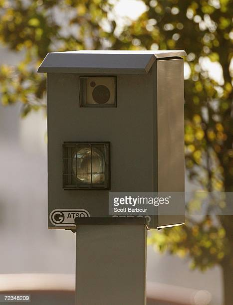 A speed camera sits on the side of a road on Novemebr 2 2006 in London England Richard Thomas the British government's information commissioner has...
