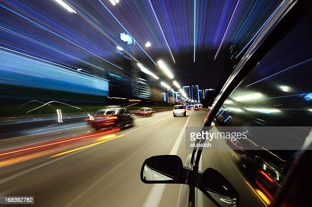 Speed in urban scene
