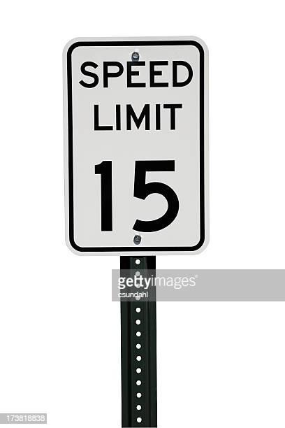 Placa de Limite de velocidade com Traçado de Recorte