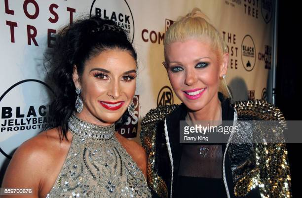 Speed Skater Allison Baver and actress Tara Reid attend 'The Lost Tree' screening at TCL Chinese 6 Theatres on October 9 2017 in Hollywood California