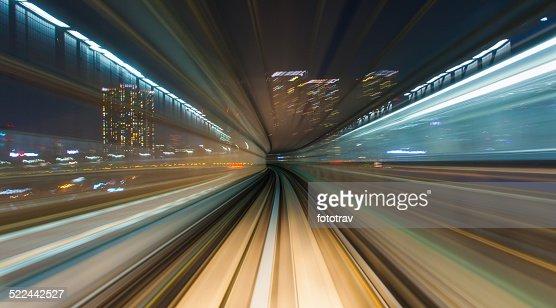Speed - Train in Tokyo
