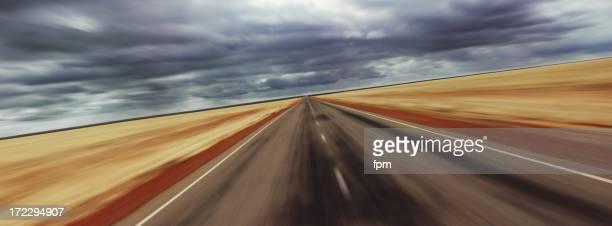 Speeding Concept (motion blur)