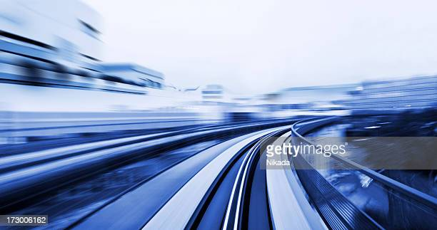 Speeding through a City