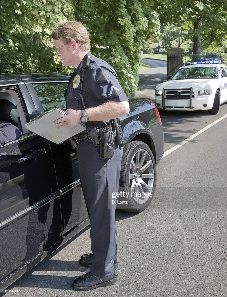 Speeding Ticket : Stock Photo