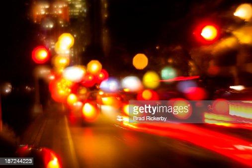 Speeding traffic