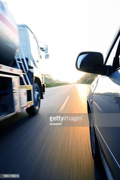 Beschleunigung truck